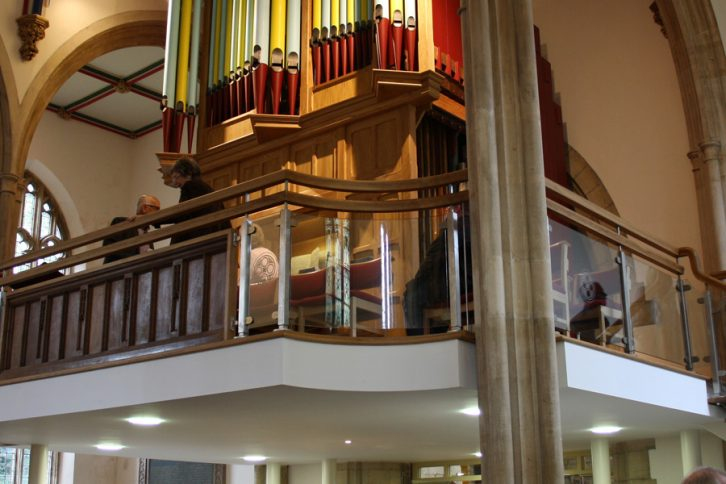 Raised Organ Loft
