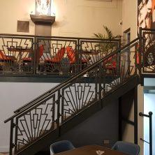 Art Deco inspired balustrade